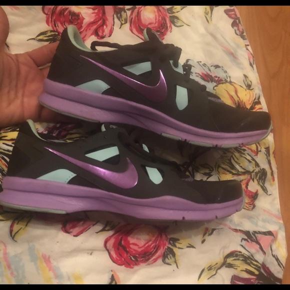 2ecfdab5ae531 57% off Nike Shoes Womens Training Comfort Sz 9 Purple Mjnt Blk ...